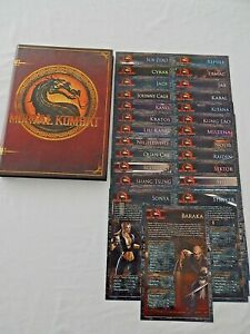 MORTAL KOMBAT PRIMA OFFICIAL GAME GUIDE HARD BACK BOOK AND REFERENCE CARDS