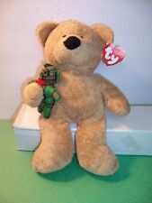 TY PLUFFIES -- BEAR BEARY MERRY -- 2005 EXCELLENT - MINT TAG -  NWT