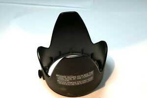55mm Plastic Lens Hood Shade slip on type