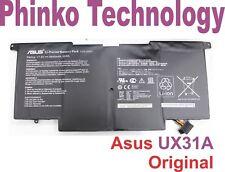 Orignal Laptop Battery for ASUS ZenBook UX31 UX31A UX31E C22-UX31 C23-UX31