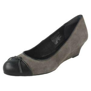 Ladies Rockport Slip On Wedge Shoes 'K71848'