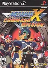 Mega Man X Command Mission, Good PlayStation2, Playstation 2 Video Games