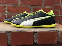 Puma EvoTouch 3 Black Soccer Football Turf Sneaker Jr Youth US 7 Style 103758 01