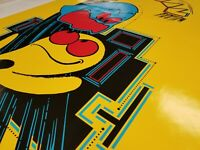 Pac-Man Arcade Game Side Art & Kick Set - Highest Quality Available