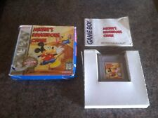 Mickeys Dangerous Chase for Nintendo Gameboy GB Boxed Complete with Manual