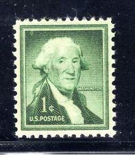 US STAMP #1031 — 1c WASHINGTON — SUPERB  -- MINT — GRADED 98