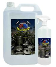 More details for beer line cleaner antibac deodoriser 1l spray & 5l container range the mops head