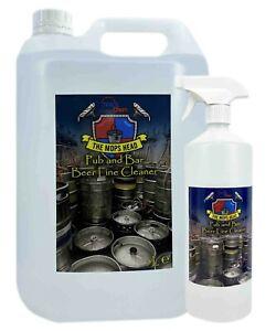 Beer Line Cleaner Antibac Deodoriser 1L Spray & 5L Container Range The Mops Head