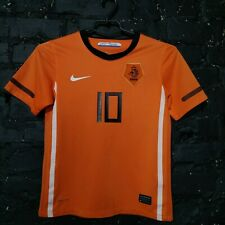Sneijder Netherlands Jersey Home football shirt 2010 - 2012 Nike Size Young S