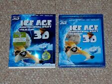 Ice Age: Continental Drift 3D/Blu-ray/DVD Combo 2012 Brand New Canadian