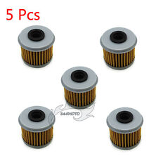 5x Oil Filter For Honda CRF450X CRF250X CRF150R CRF250R CRF450R TRX450R CRF150RB