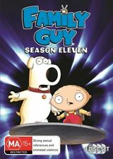 Family Guy series 11 eleven season DVD very good condition