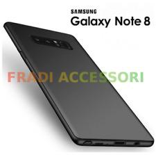 cover custodia Samsung GALAXY NOTE 8 Nera TPU morbida ultra slim protezione