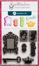 Spellbinders & Hampton Art ROYAL AFFAIR Stamp & Die Sets - BRAND NEW BARGAIN!!