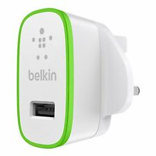 Belkin Universal 2.1 Amp USB AC Wall Charger for Smartphone Tablets iPhone iPad