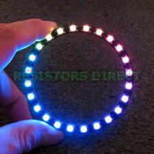 LED Ring 24 x WS2812B 5050 RGB Integrated Drivers Arduino 24 Bit Y48