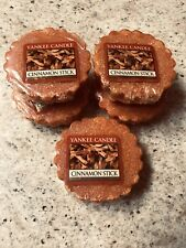 Yankee Candle Cinnamon Stick Tarts LOT OF 5 Round NEW RARE