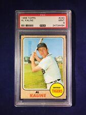 1968 Topps Al Kaline #240 PSA 9 Detroit Tigers HOF