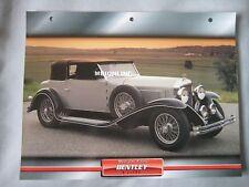 Bentley 8-litre Dream Cars Card