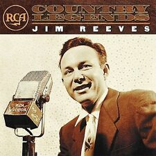 RCA Country Legends Jim Reeves (CD, 2002) 16 Tracks BMG Heritage Four Walls