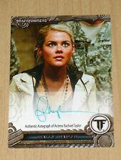 2012 Breygent SDCC TRANSFORMERS authentic on-card autograph Rachael Taylor