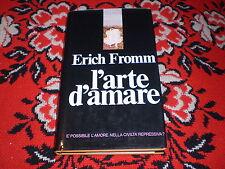 e. fromm l'arte di amare carton. sovr. 1977