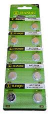10x AG7 395A 926 LR927 SR927SW LR57 SR927 395 Alkaline Button Cell Watch Battery