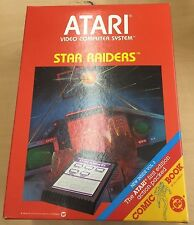 Atari 2600: Star Raiders COMPLETE w/ Boxes + Video Touch Pad + Comic + Manuals