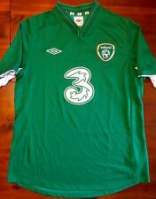 Umbro IRELAND 2012-14 Home L Soccer Jersey Football Shirt Eire