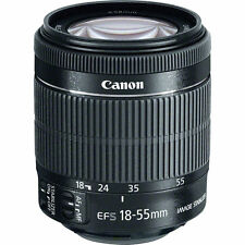 CANON EF-S 18-55MM F3.5-5.6 IS STM IMAGE STABILIZER  ZOOM LENS