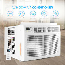 1000 SQ FT Home Air Conditioner 18000 BTU AC Window Mount Remote Control White