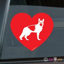 Love German Shepherd Sticker Die Cut Vinyl - v2