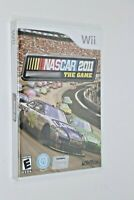 NINTENDO WII ** Nascar 2011 The Game ** BRAND NEW FACTORY SEALED FREE SHIPPING