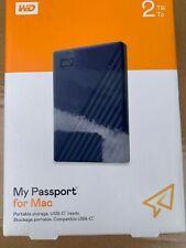 Western Digital My Passport for Mac 2TB Brand New