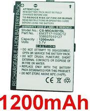 Batería 1200mAh tipo 338937010127 EM3T171103C12 Para Mitac Mio A501