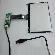 "7"" inch USB Multi-Capacitive Touch Screen Digitizer Panel for 16:9 TFT LCD Panel"