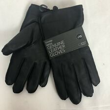 George Genuine Mens Leather Gloves Small-Medium Driving Accessories