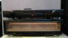 Technics SE-A900 + SU-C800 High-End set: power + preamplifier with big Vu-meters