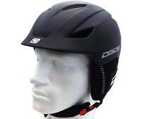 Dirty Dog Adjustable Eclipse Ski Snowboard Helmet Small Matte Black