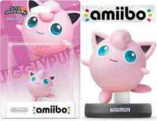 AMIIBO JIGGLYPUFF Super Smash Bros EXCLUSIVE Nintendo Pokemon Game Character NEW