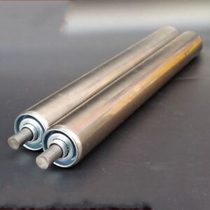 25/38/50mm OD Stainless Steel Industrial Assembly Line Conveyor Roller 200-700mm
