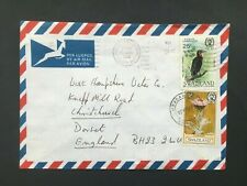 SWAZILAND 1985 AIR MAIL COVER TO ENGLAND