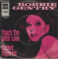 """Bobbie Gentry Touch`em With Love / Casket Vignette 1969 EMI Capitol 7"""""""