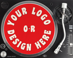"""Personalised Slipmat Printed with your own Logo/Design 12"""" Slipmat Full Colour"""
