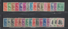 UNITED STATES 803-834 MNH HALF CENT TO FIVE DOLLAR 1938 PRESIDENTIAL SERIES