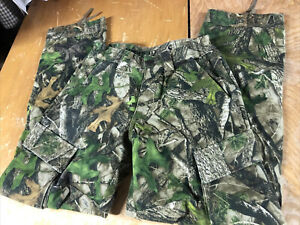 RedHead Silent-Hide True Timber Camo Cargo hunting Pants Mens S Small 28-29x31