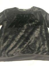Star Wars Brushed Fleece Pullover Sweatshirt Pullover Shirt Black  Soft L 11/13