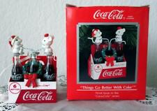 CHRISTBAUM-ANHÄNGER - COCA COLA ORNAMENT - KASTEN + 2 MÄUSE - THIRD ISSUE - 1991