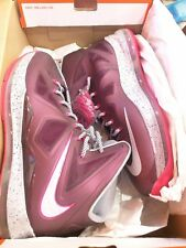 Nike Lebron X 10 CROWN JEWEL size 13.5 Fireberry between 14 13 LOOK AT PICTURES