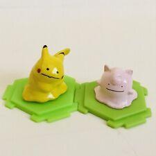 Ditto Pikachu & Clefairy Original CGTSJ Nintendo Pokemon Mini Figures vtg Bandai